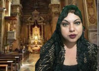 """Alejada de la iglesia, activista trans dispara: """"Basta de curas pedofilos"""""""