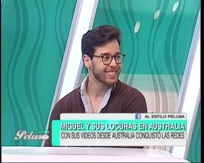 """Las travesías de """"Miguel, Hola Que tal"""" en Australia"""