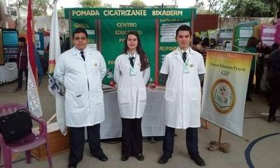 Estudiantes del CEP lograron primer puesto en feria de ciencias y tecnología