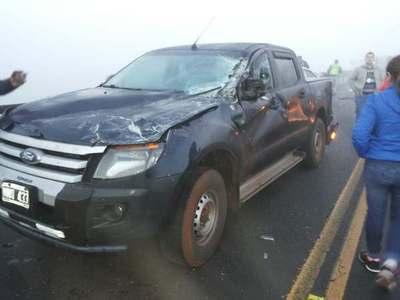 Accidente grave sobre la ruta uno, hay fallecido