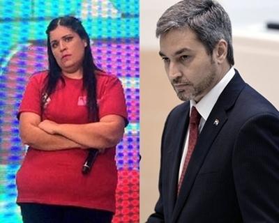 """Pamelita requiere a Mario Abdo: """"No puedo subir al colectivo dignamente"""""""