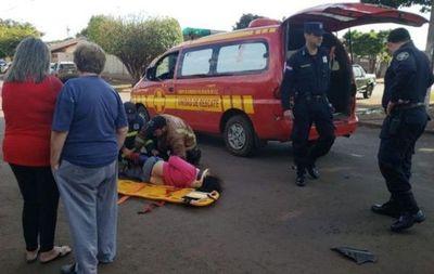 Dos menores mueren en accidente de tránsito en Pedro Juan