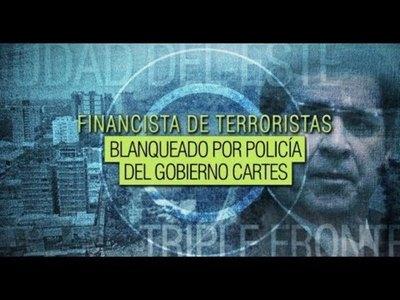 Policía de Cartes blanquea a financista de terroristas