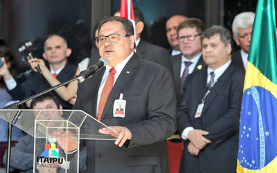 José Alberto Alderete asume la Dirección de Itaipú
