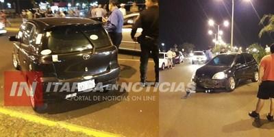 AGENTE DE TRÁNSITO PROTAGONIZÓ UN ACCIDENTE.