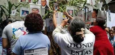 Recomiendan México luchar contra desapariciones