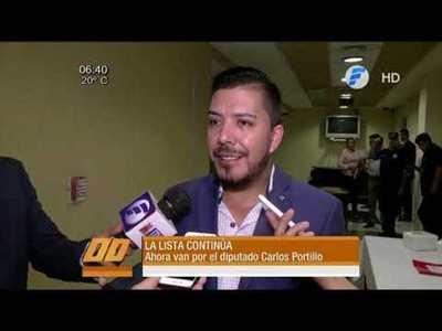 Ahora van por el Diputado Carlos Portillo