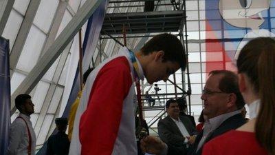 Mateos, confirmado para Buenos Aires 2018