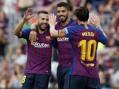 Barcelona goleó a Huesca