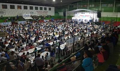 Misiones: Más de 1.500 personas en la cena de la confraternidad de la Alianza GANAR