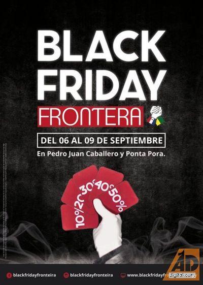 El Black Friday Frontera con atractivos culturales