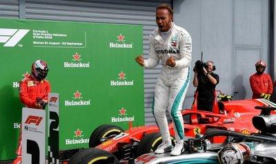 """Hamilton: """"Es pronto para creerme campeón"""""""