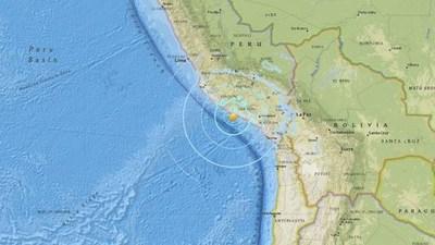 Sismo de magnitud 6,4 es registrado en el noroeste de Perú