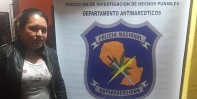 Horqueta: Mujer cayó con crack