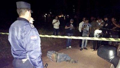 Asesinan a tiros a un gomero en Amambay