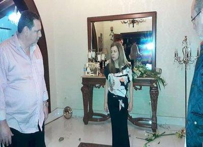 Brutal ataque al domicilio de la familia Zacarías Irún en CDE