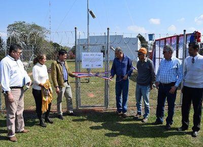 Inauguran Estaciones Meteorológicas Automáticas en Caazapá