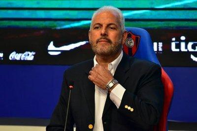 Zapag anuncia que no seguirá como presidente de Cerro Porteño