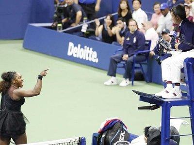 """Serena introduce el """"sexismo"""" en la polémica derrota ante Osaka"""