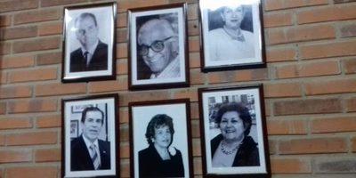 Inauguran Galería de Ex Decanos y Directores en la UCA