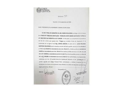 Se inicia el proceso para  desafuero del diputado  Ulises Quintana