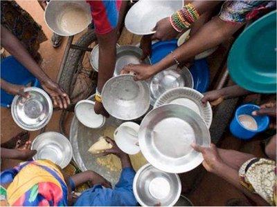Las personas con hambre en el mundo siguen aumentando