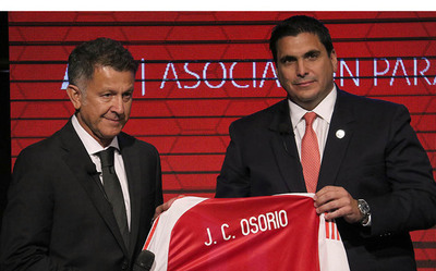 """Osorio se queda"", aseguró Robert Harrison"