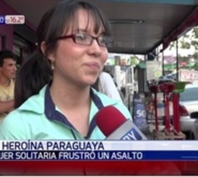 Heroína paraguaya: Siguió a ladrón de motos y logró que lo detengan