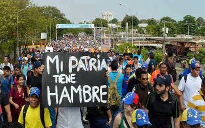 ONU: Sudamérica sufre un aumento del hambre por la crisis en Venezuela