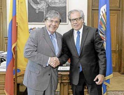 Almagro llega a Colombia para abordar crisis migratoria venezolana