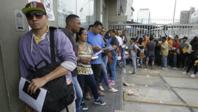 Más de 430 mil venezolanos se refugiaron en Perú