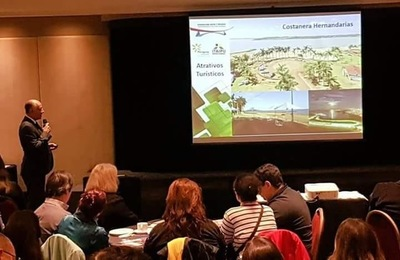 Promocionan Alto Paraná como destino de turismo de reuniones en Brasil