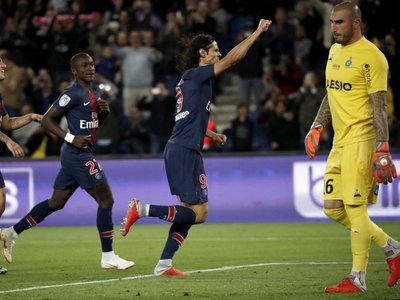 El PSG golea al Saint Etienne