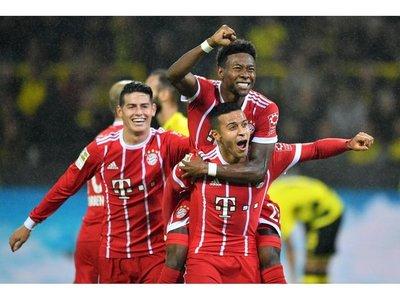 Bayern vence al Dortmund y es más líder en Alemania