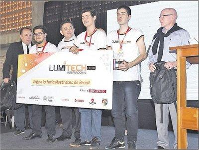 Tres proyectos ganaron en la feria tecnológica