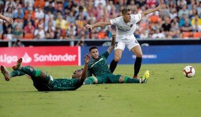 Betis y Valencia termina en tablas