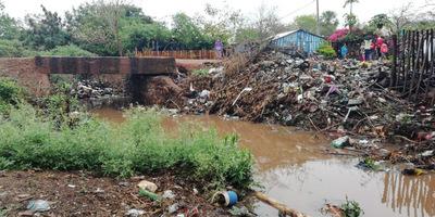 Lluvia causa estragos en la ciudad de Concepción