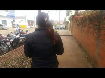 Seis delincuentes con machete en mano atacan y roban a dos mujeres