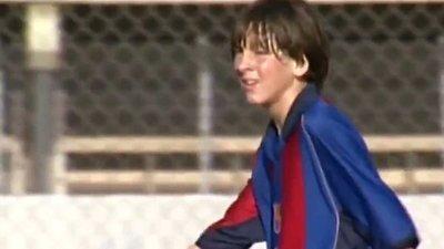 Barcelona celebró 18 años con Messi