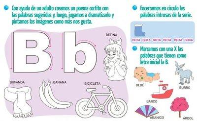 ¡La consonante B-b!