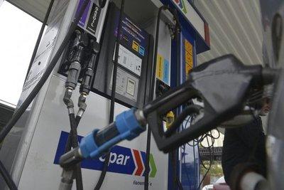 Ojupi precio combustible reheguáva