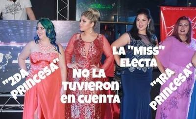 """HOY / Denuncian """"fraude"""" en elección de Miss Gordita"""