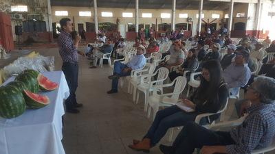 Lanzamiento de campaña algodonera en Horqueta