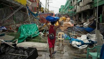 Tifón Mangkhut: Asciende a 74 la cifra de muertos