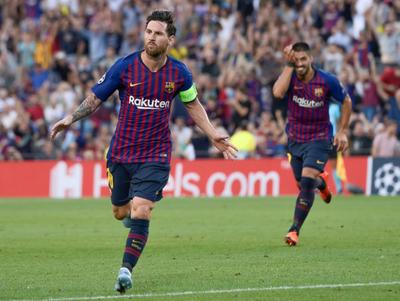 Messi mueve a un Barcelona goleador