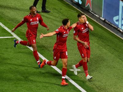 Liverpool vence al PSG en tiempo de descuento