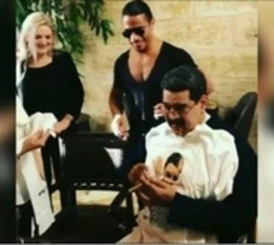 El banquete que disfrutó Maduro, pero indignó a muchos