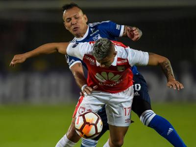 Millonarios rescata un empate de su visita a Santa Fe, por Conmebol Sudamericana