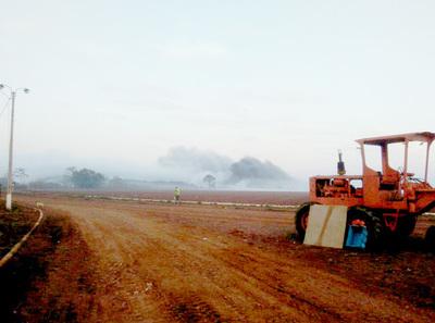 Preocupa situación ambiental en el vertedero del Km 12 Monday