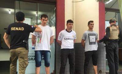 HOY / Capturan a miembros del PCC en Salto del Guairá